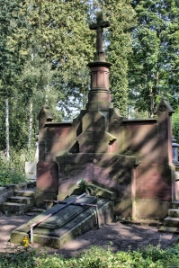 Grób Wernerów na cmentarzu w Ozorkowie